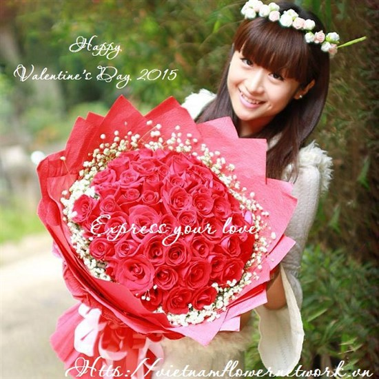 Send Valentines Day Flowers To Vietnam