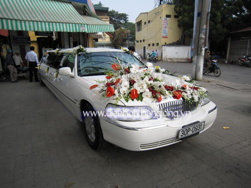 Wedding Flower Cars